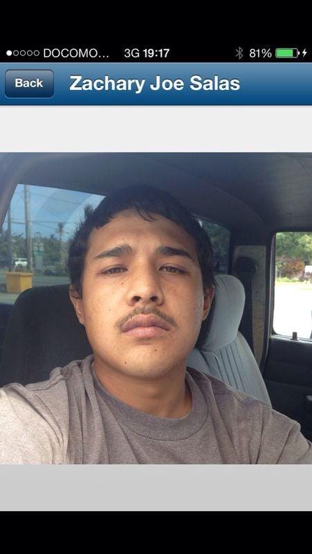 Zachery Joe Salas, 21 of Chalan Pago