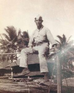 Gene Bell, circa 1944