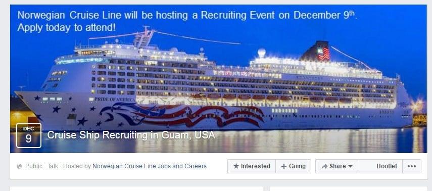 resume cruise ship
