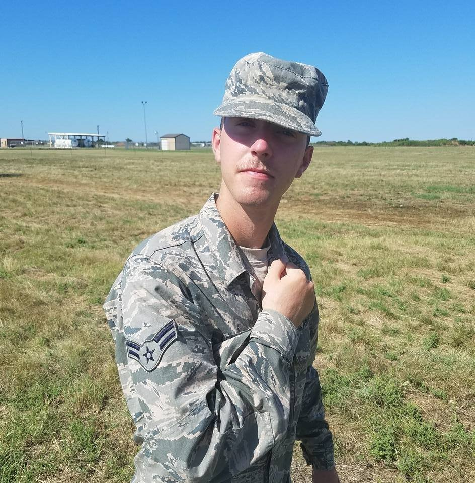 Airman 1st Class Bradley Hale was found dead at Andersen Air Force Base last March.
