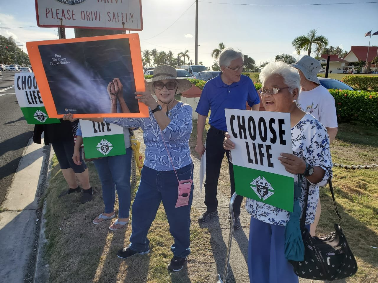 Woman died of heart attack during pro-life rally - KUAM com