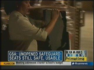 GSA: unopened safeguard seats still usable - KUAM com-KUAM